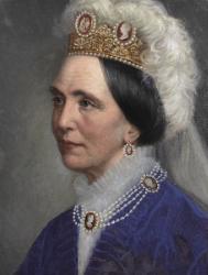 Queen Josefina of Sweden by Bertha Valerius { source }