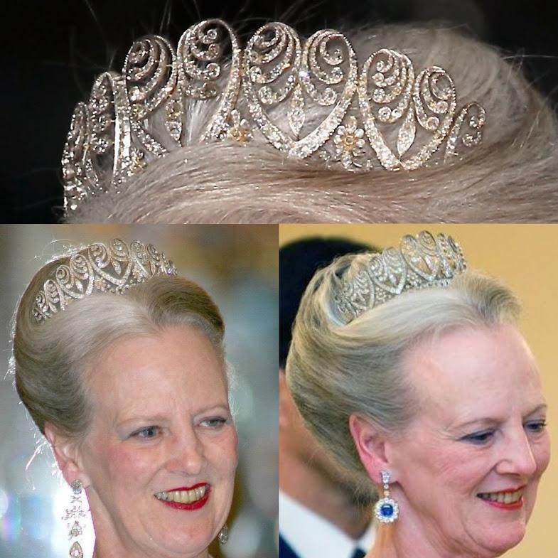 palmette tiara