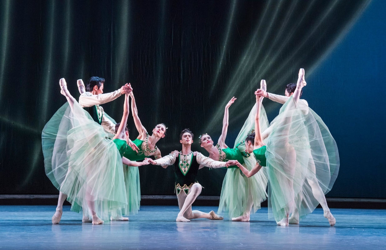A scene from Emeralds. (Photo Credit: Tristram Kenton for the Guardian)