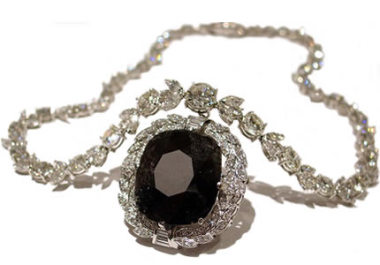 67.50 carat Black Orlov Diamond