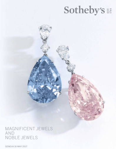 Magnificent Jewels and Noble Jewels, Sessions 1,2, and 3MAY 16, 2017 GENEVA