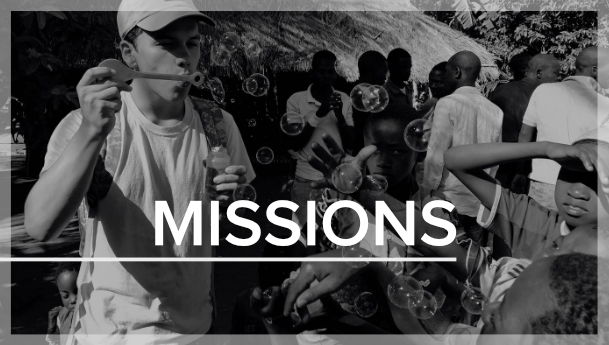 Students have the opportunity to participate in international mission trips each year. Students can go with our Mexico Missions Team or go on a trip where we partner with Rolland and Heidi Baker's ministry, Iris Global, at one of their many bases world-wide.