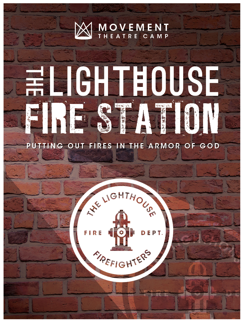 """The Lighthouse Fire Station  teaches that we must be """"suited up"""" in the armor of God for the fiery battles of life. Fireman Fred teaches his """"firefighters"""" about the importance of protecting yourself with the right equipment, starting each day with prayer, and knowing what you believe and stand for in the Kingdom of God."""
