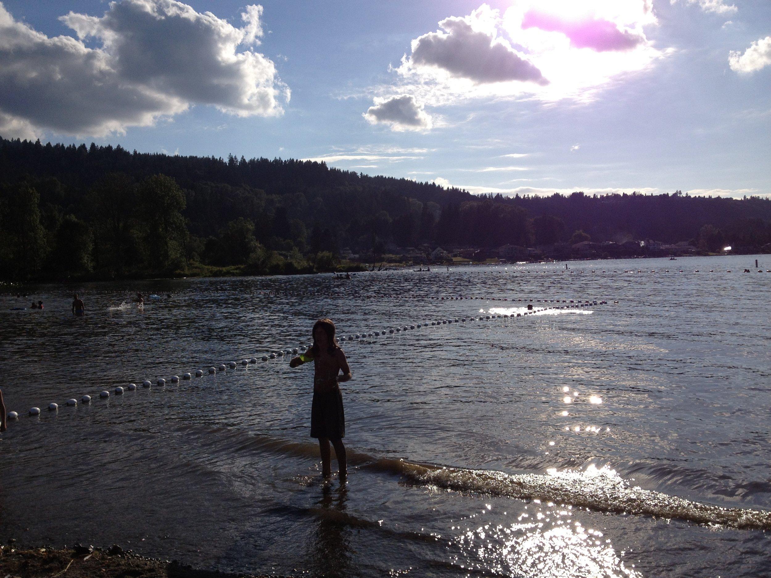 Boy/Lake