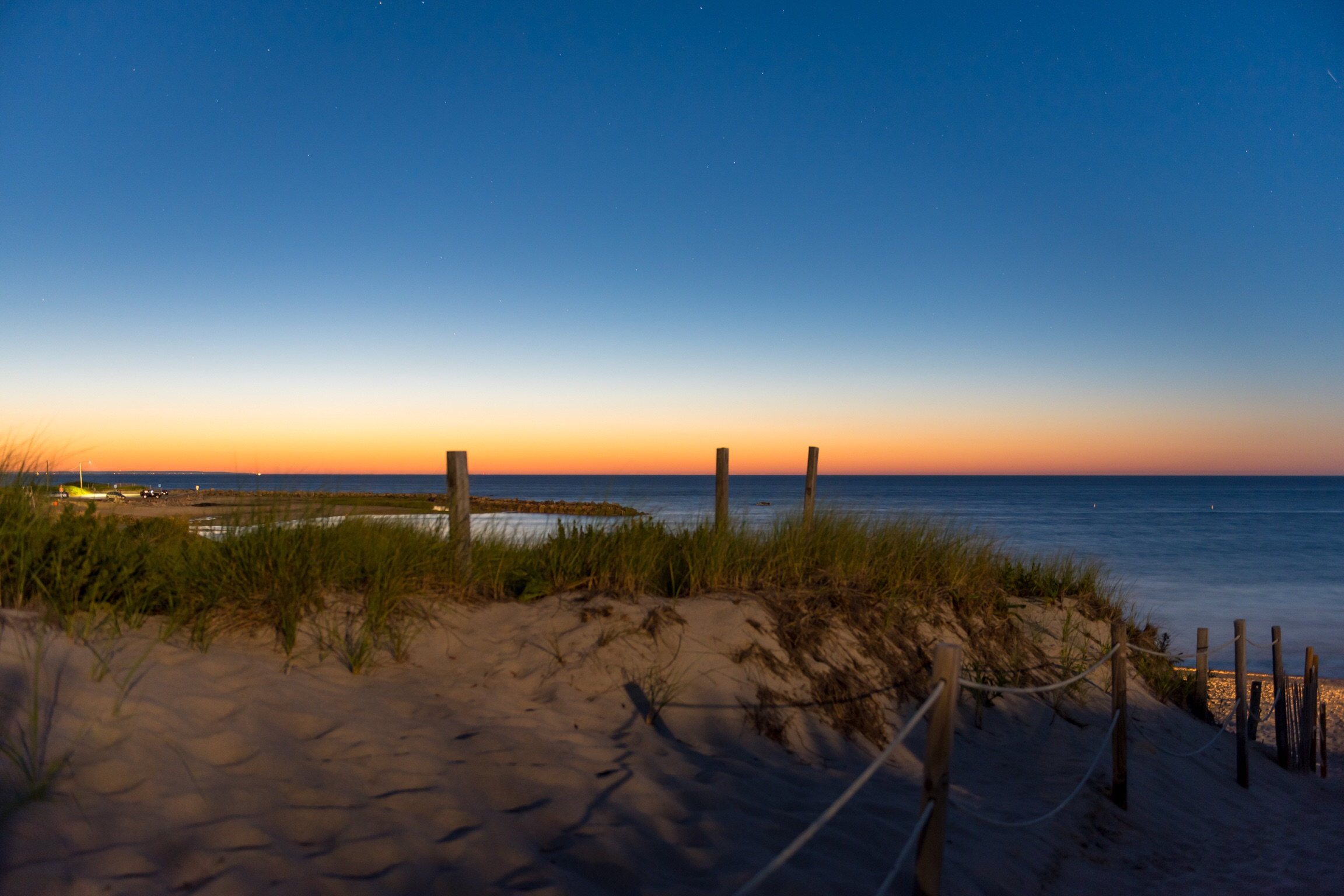 Love the dunes at night!