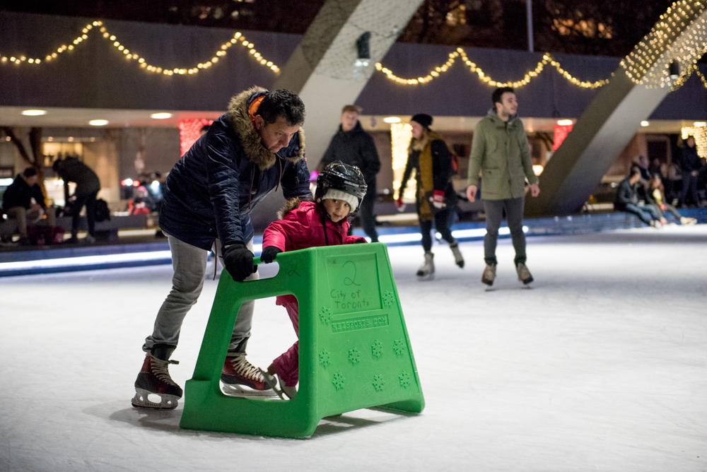 Skating is for all ages, young and old.