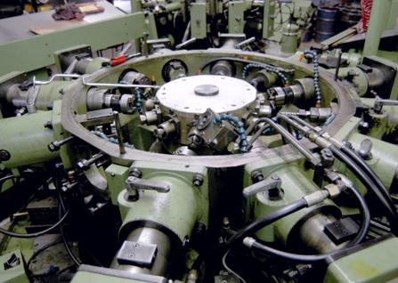 "Ceca Tricon LCM 500 Press (50"" Stroke)  (4) Hydromat Rotary Transfer Machines  (1) National Maxi-Press"