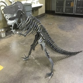 Collaborative junior/senior project–T-Rex!