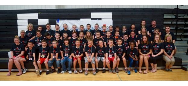 Camp 1 Participants and Staff: Grades 4–6