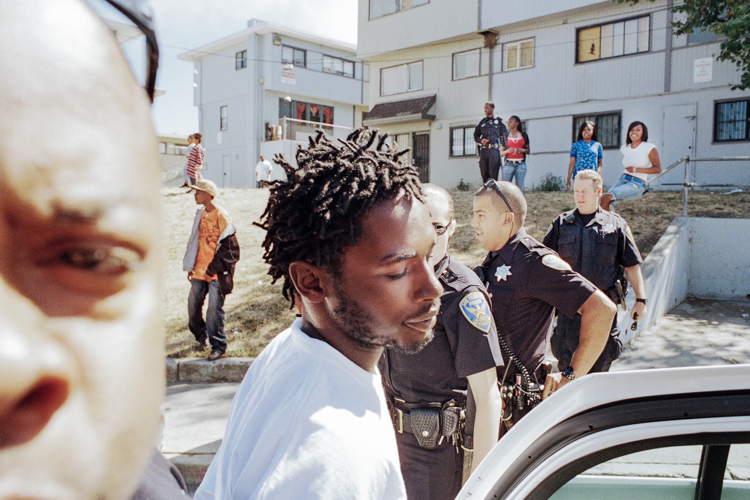 Jermaine is arrested in Hunters View, 2008.