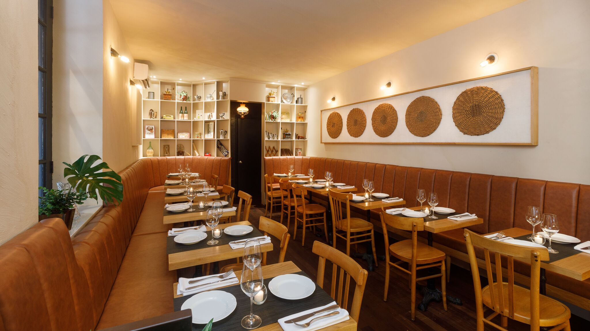 Indoor view of Tarallucci e Vino - East Village dining room.