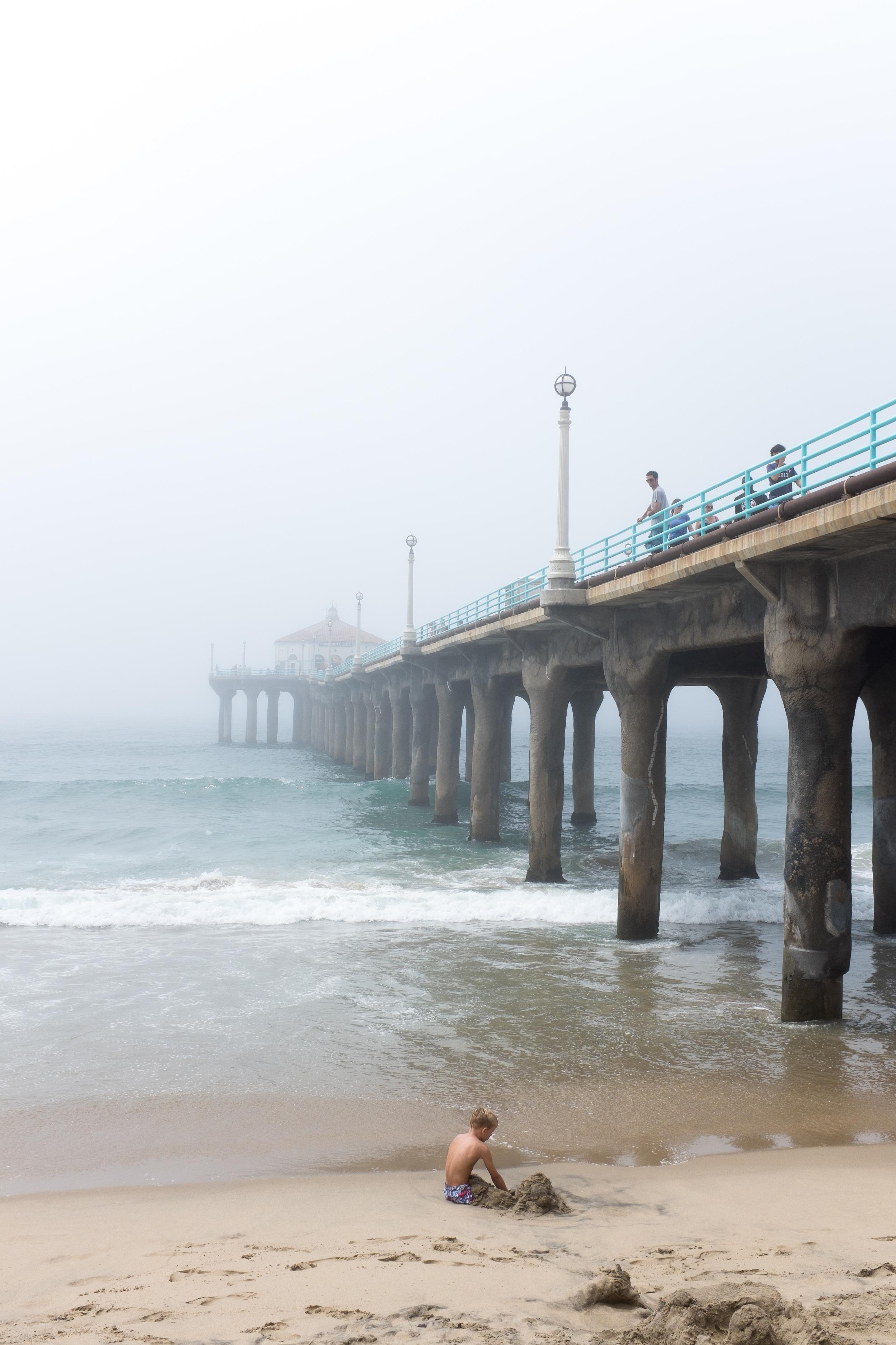 Sand Castles in the Fog