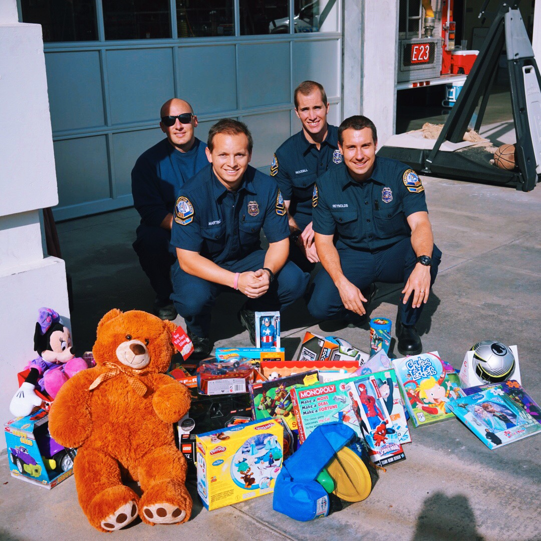 Toy Drive Success from the 12/13/14 #givingpierpressure Instameet!