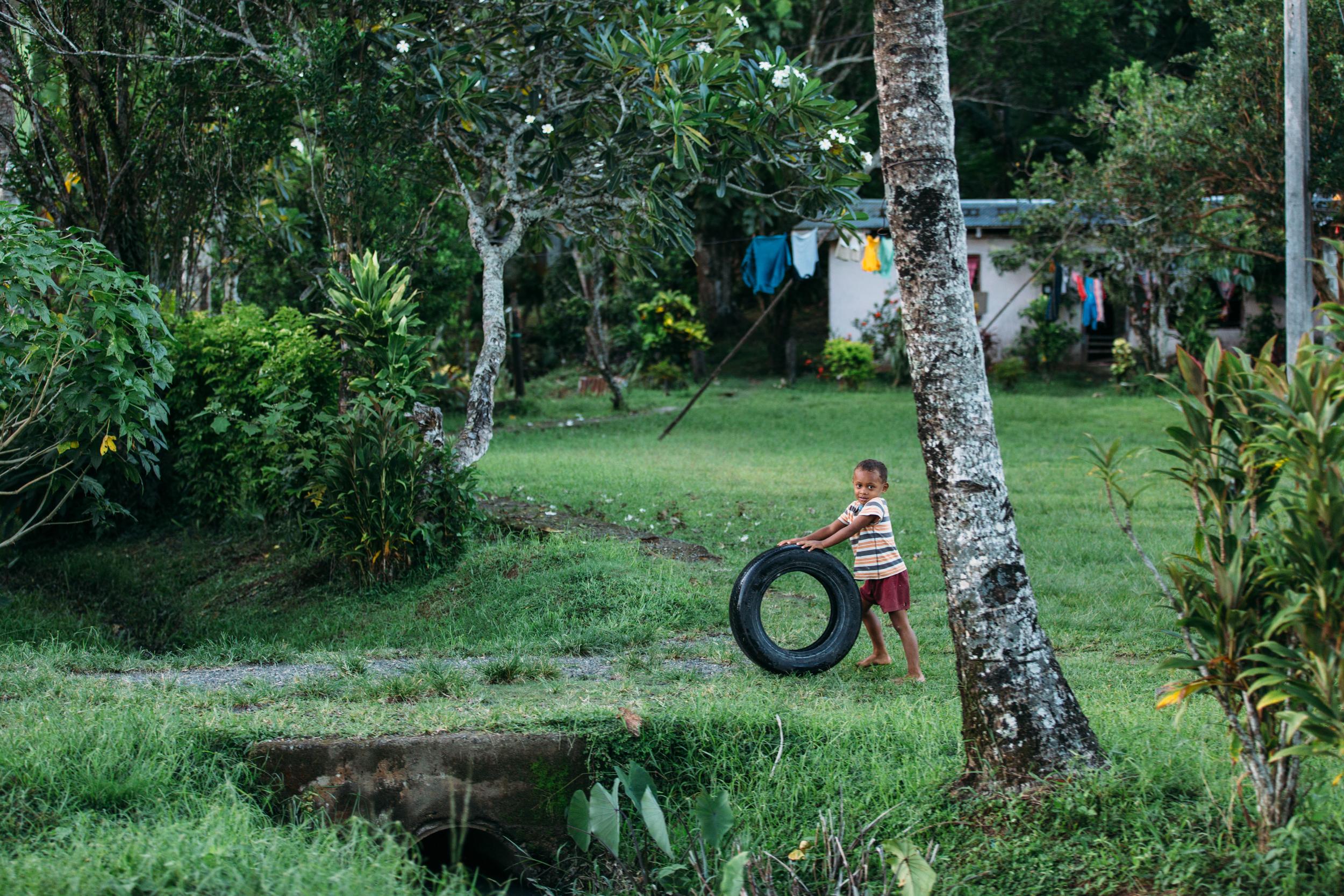 Fijian Tire Play