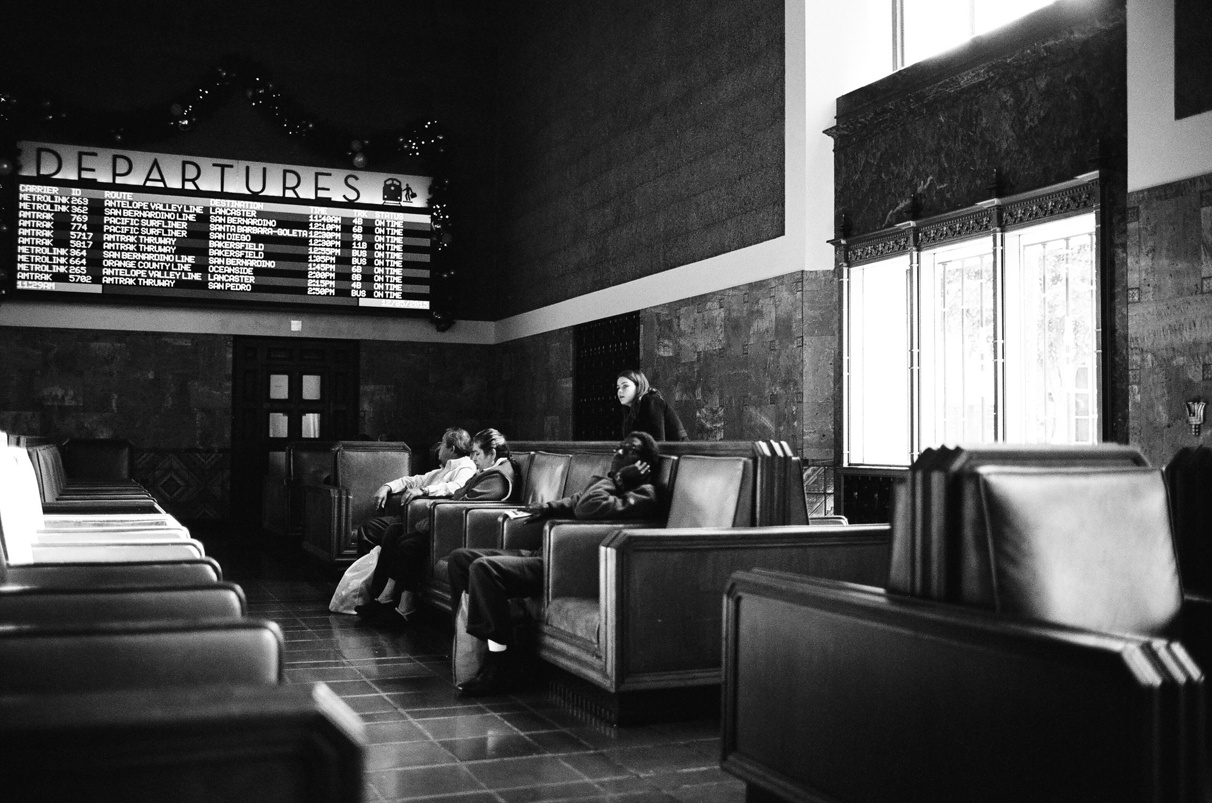 Waiting is the hardest part. - Union Station - DTLA