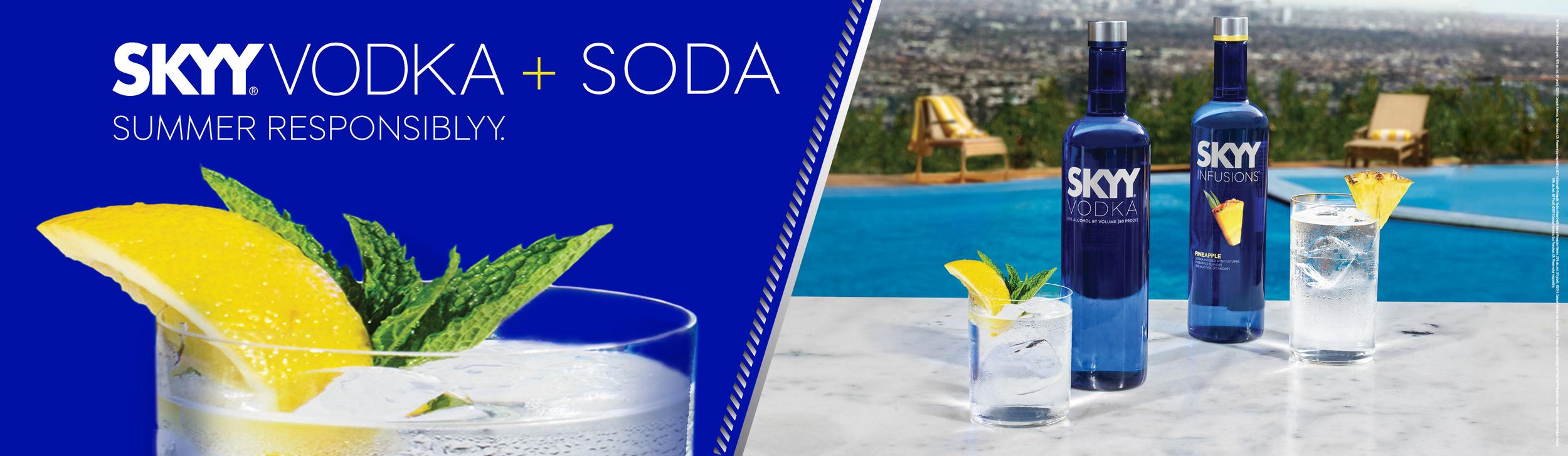 SKYY Vodka - Summer Print Campaign