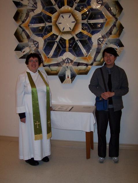 Eliza Au and Rev. Carolyn