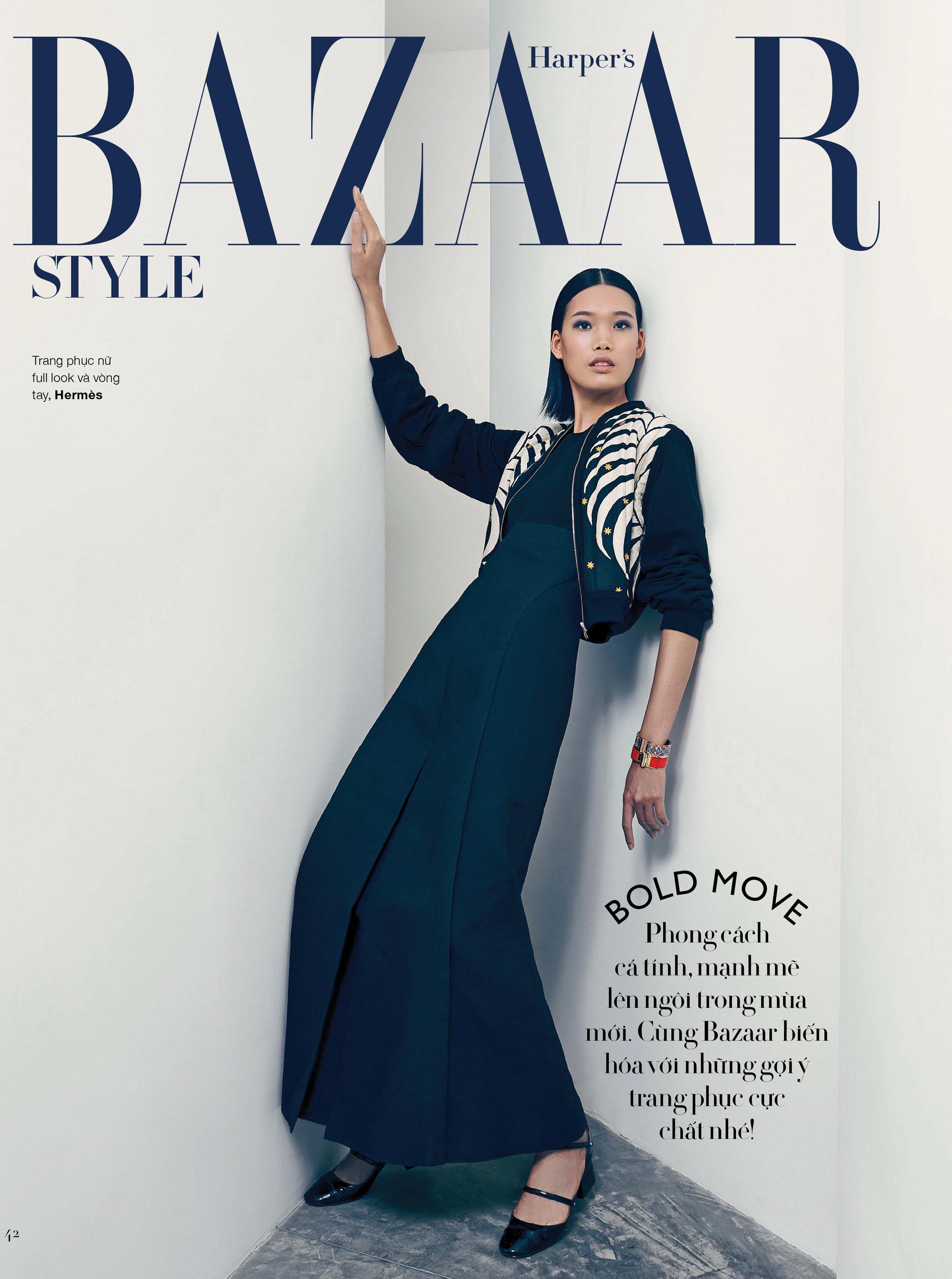 Harper's Bazaar x Hermes SS17