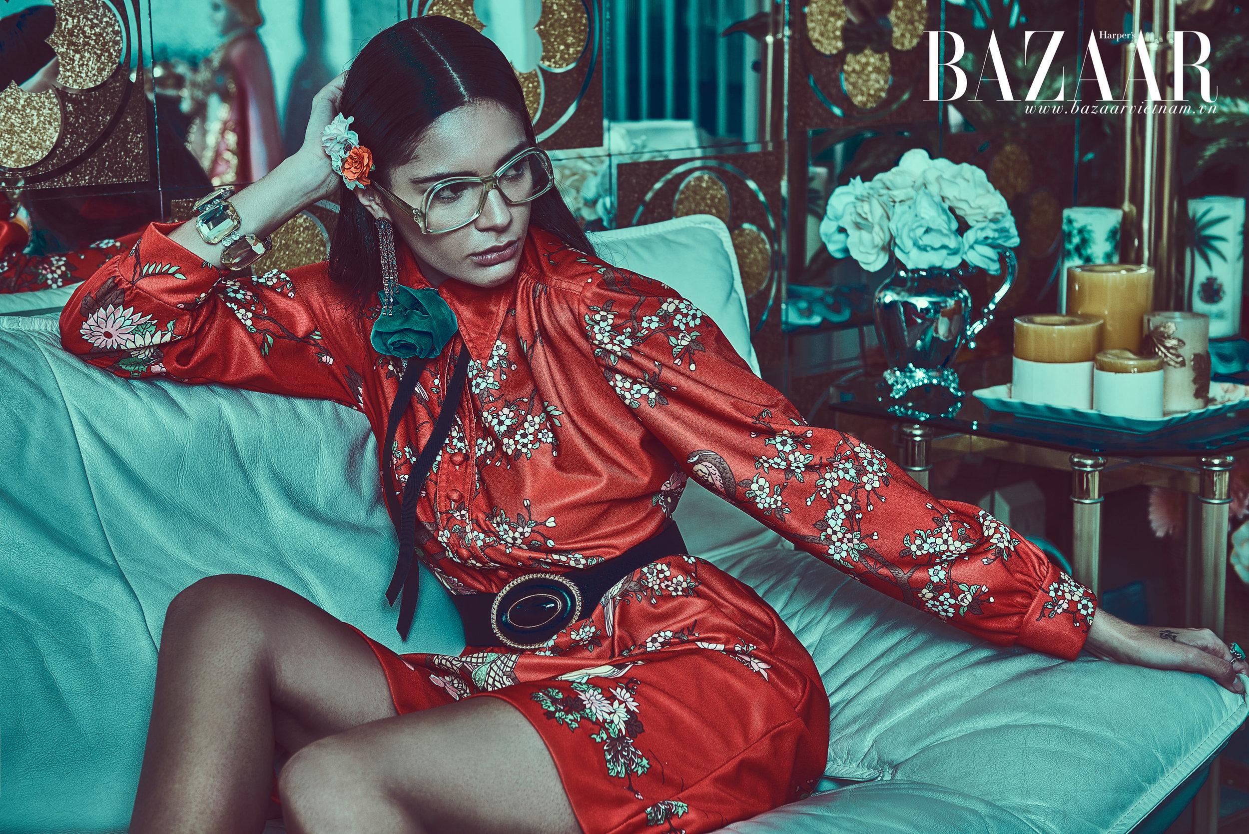 Harper's Bazaar x GUCCI SS16