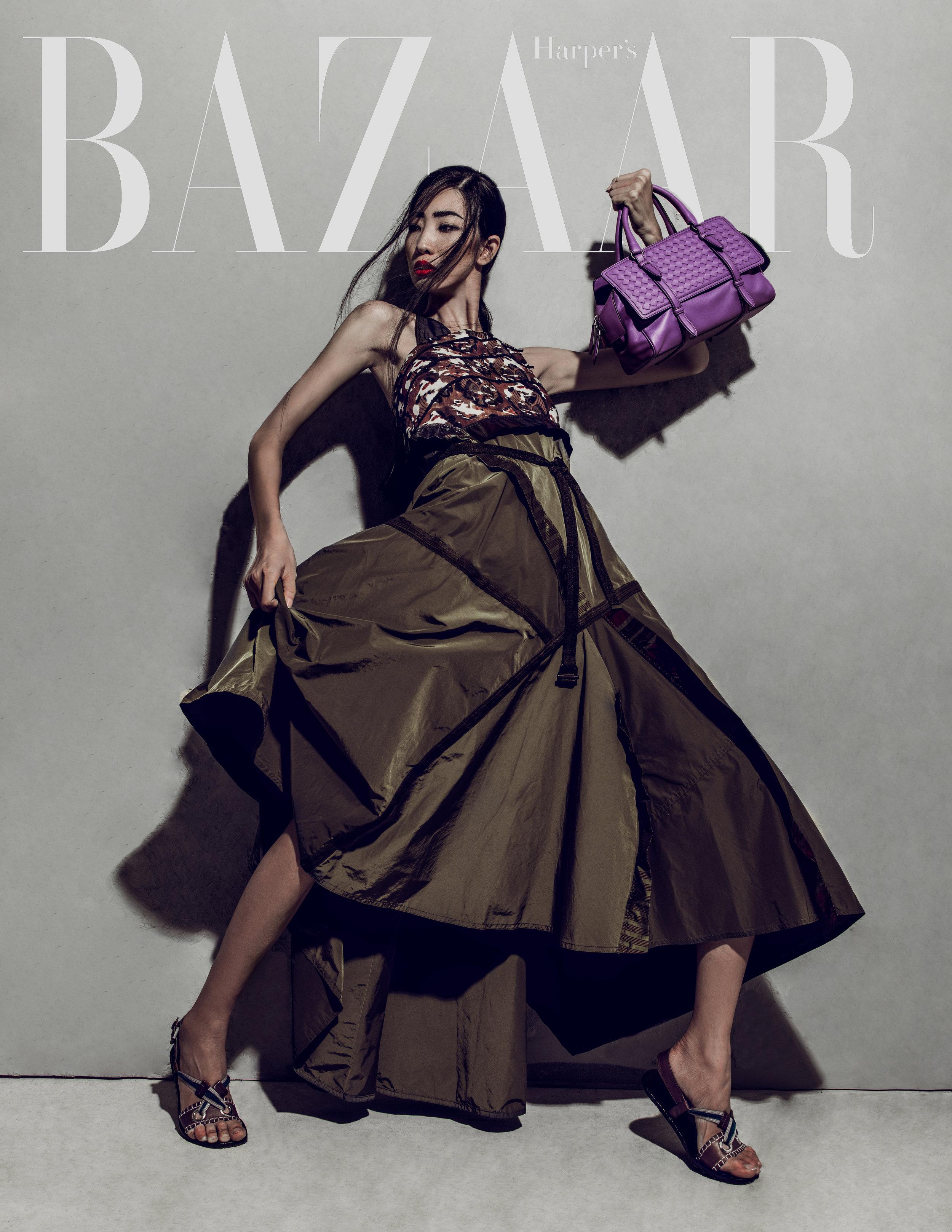 Harper's Bazaar x Bottega Veneta SS16