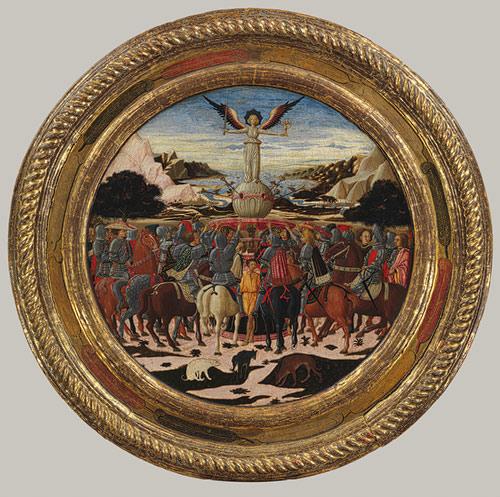 Рис.16 Поднос роженицы Медичи (фото The Metropolilatan Musem of Art)