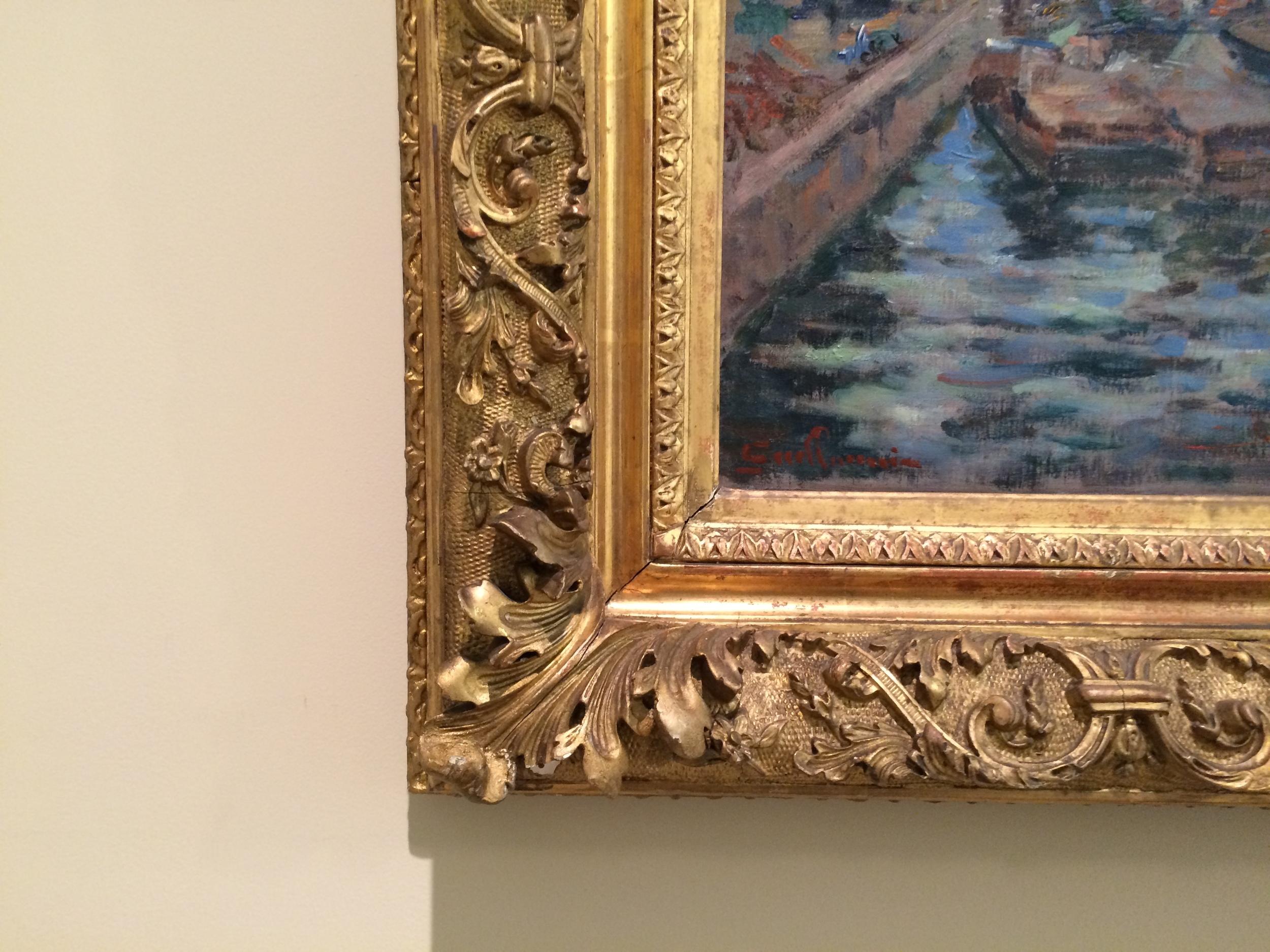 "Рис.16бАрман Гийомен ""Сена в Берси"", ок.1867-1868"