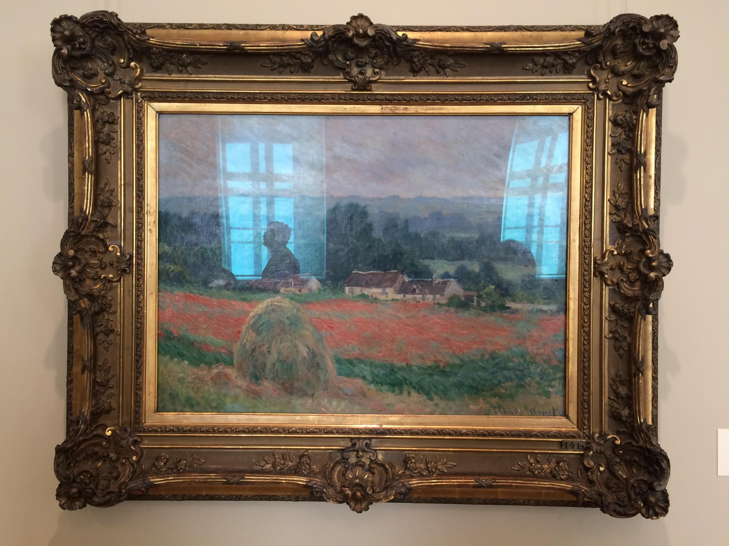 """Рис. 1аКлод Мане """"Стог сена в Живерни"""" (1886)"""