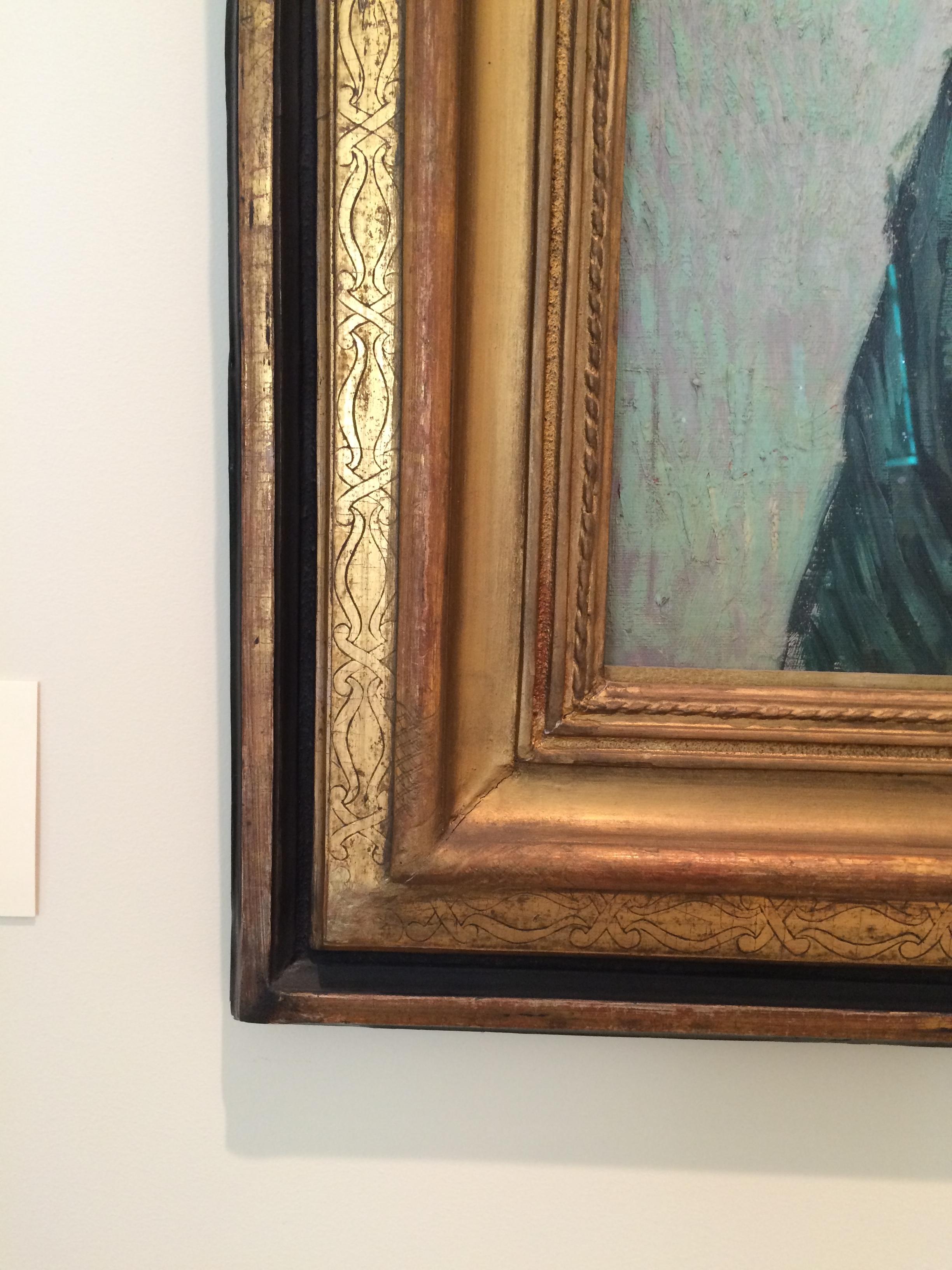 "Рис. 14бВинсент Ван Гог ""Портрет мадам Трабюк"" (сентябрь 1989)"