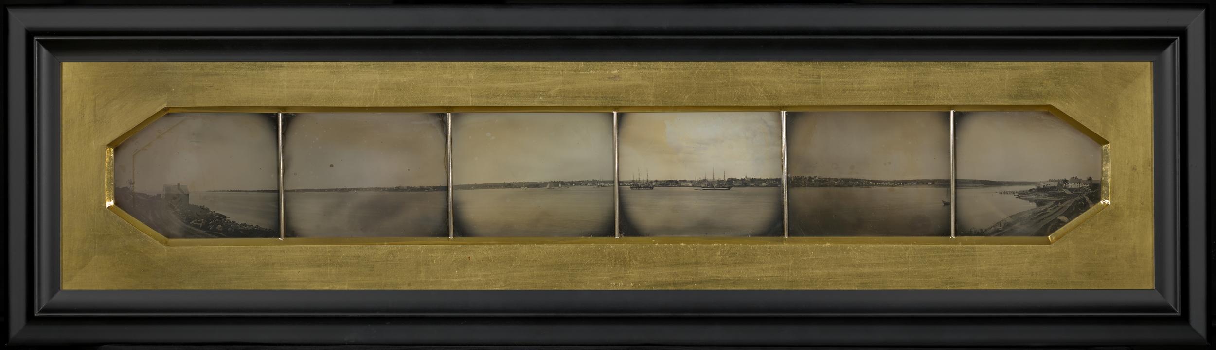 """Рис.4 Charles H. Gay """"Панорама Нью-Лондона"""", приблизительно 1851 г."""