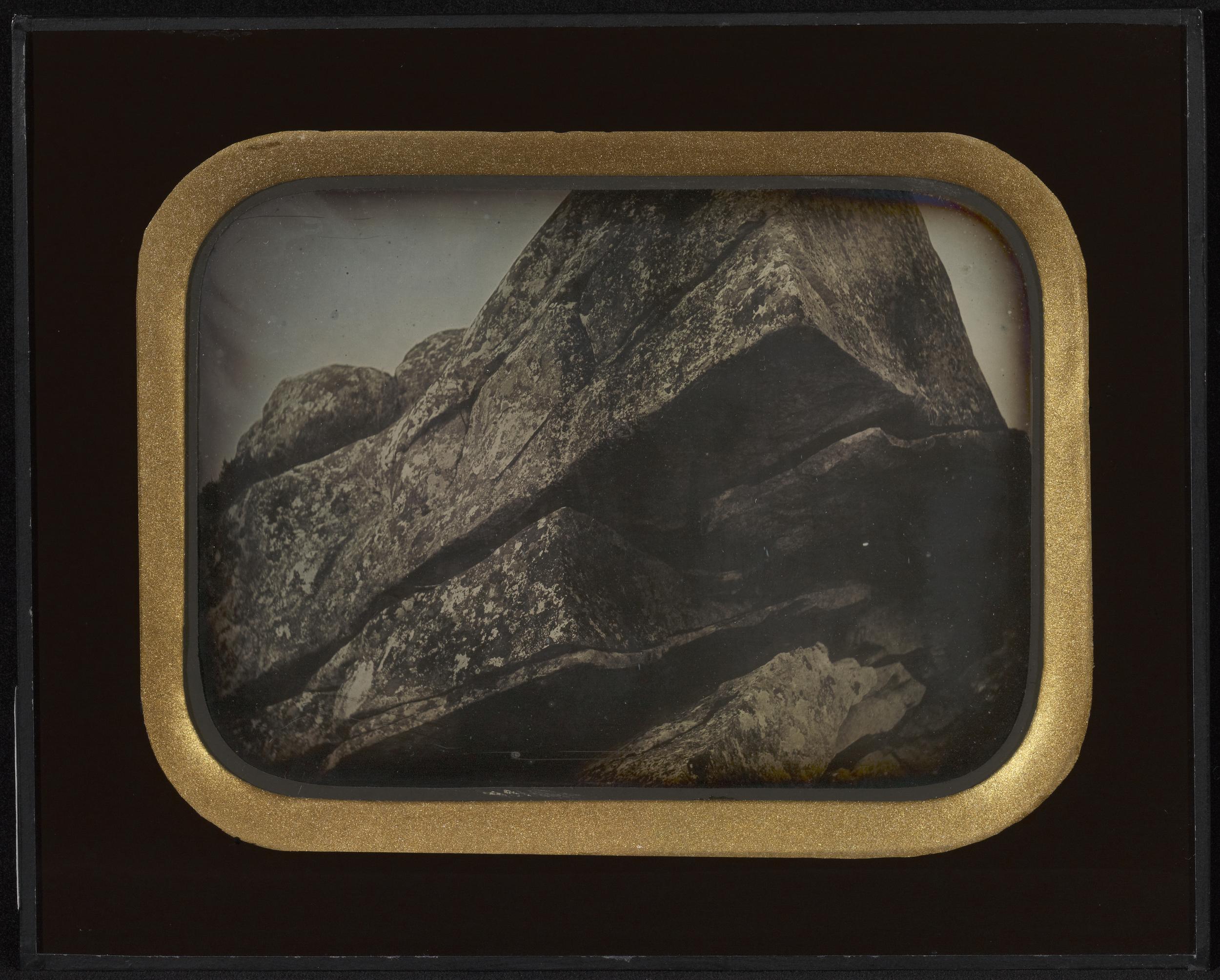 """Рис.7 """"Скалы"""" (автор неизвестен), приблизительно 1845 г."""