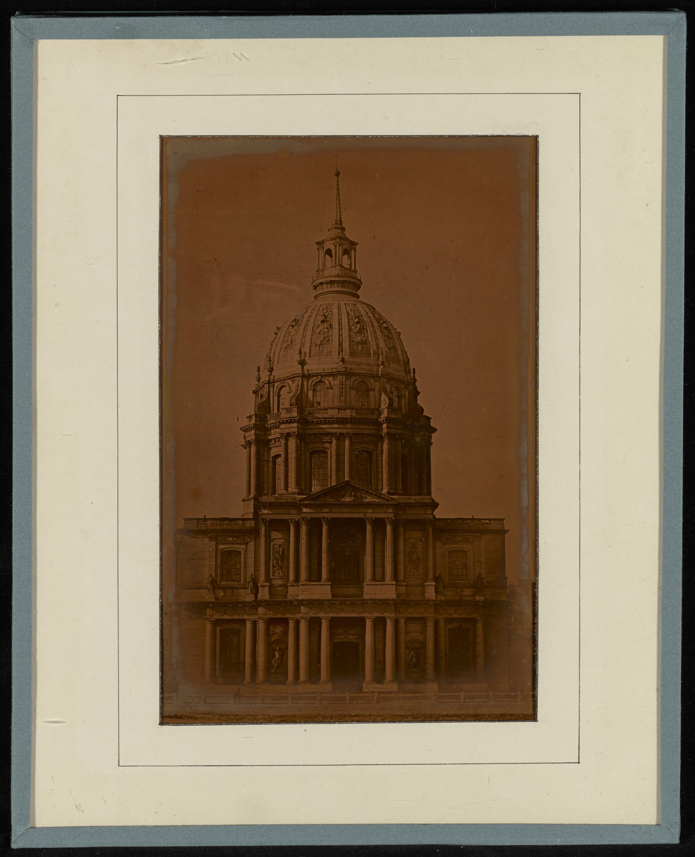 """Рис.8 Armand-Hippolyte-Louis Fizeau """"Дом Инвалидов"""", приблизительно 1841-1843 гг."""