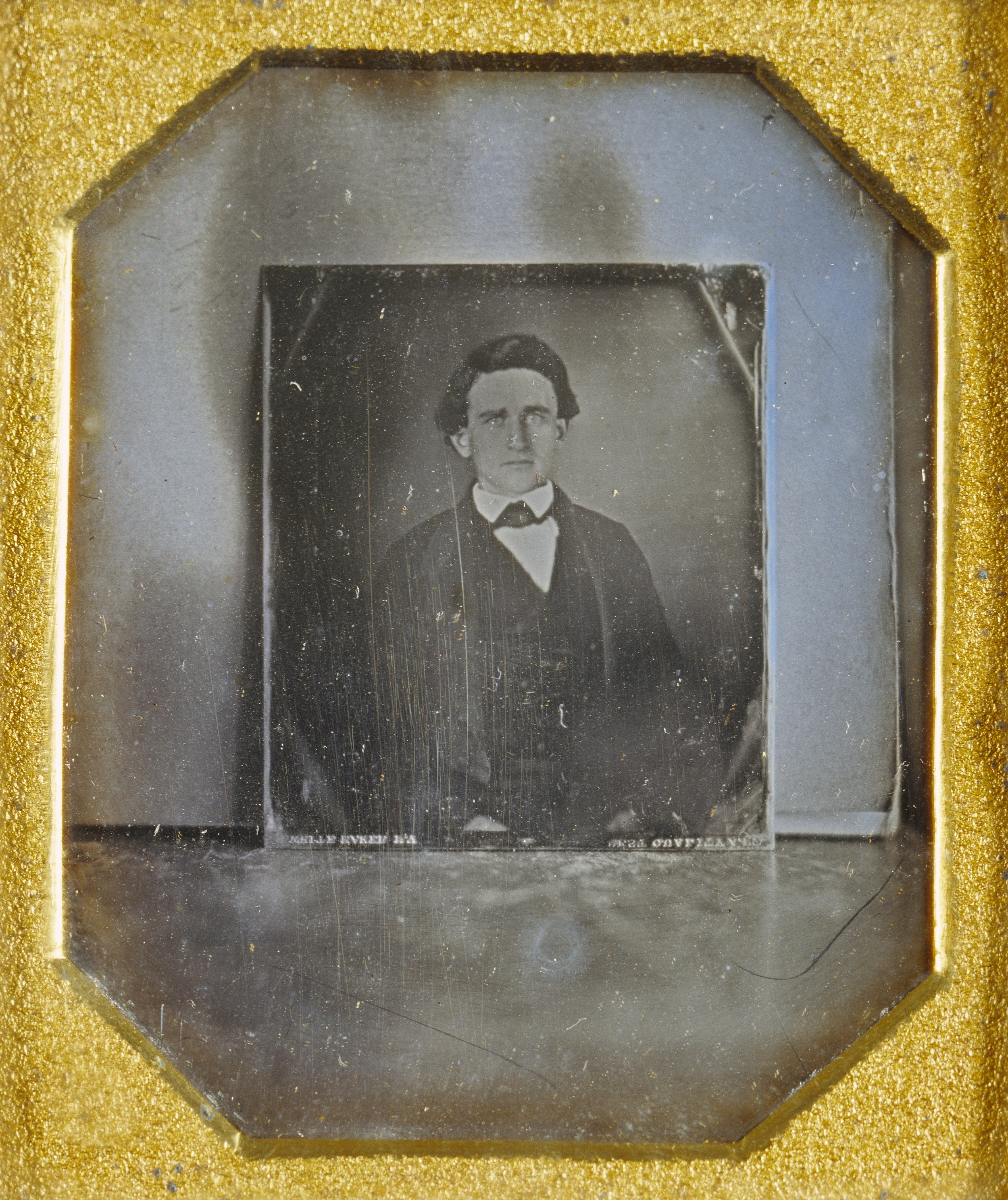 "Рис.19 ""Копия дагерротипа портрета мужчины"" (автор неизвестен), приблизительно 1848 г."