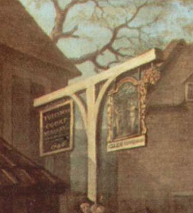 """Рис.8 Уильям Хогар, фрагмент картины """"Марш гвардии к Финчли"""" (1749-50)"""