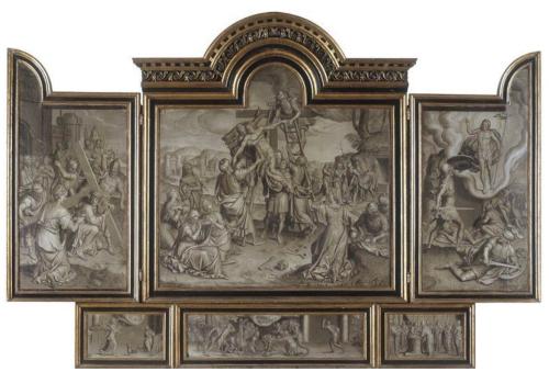 "Рис.9 Петер Пурбус ""Триптих со сценами из жизни Христа"", 1570 г."
