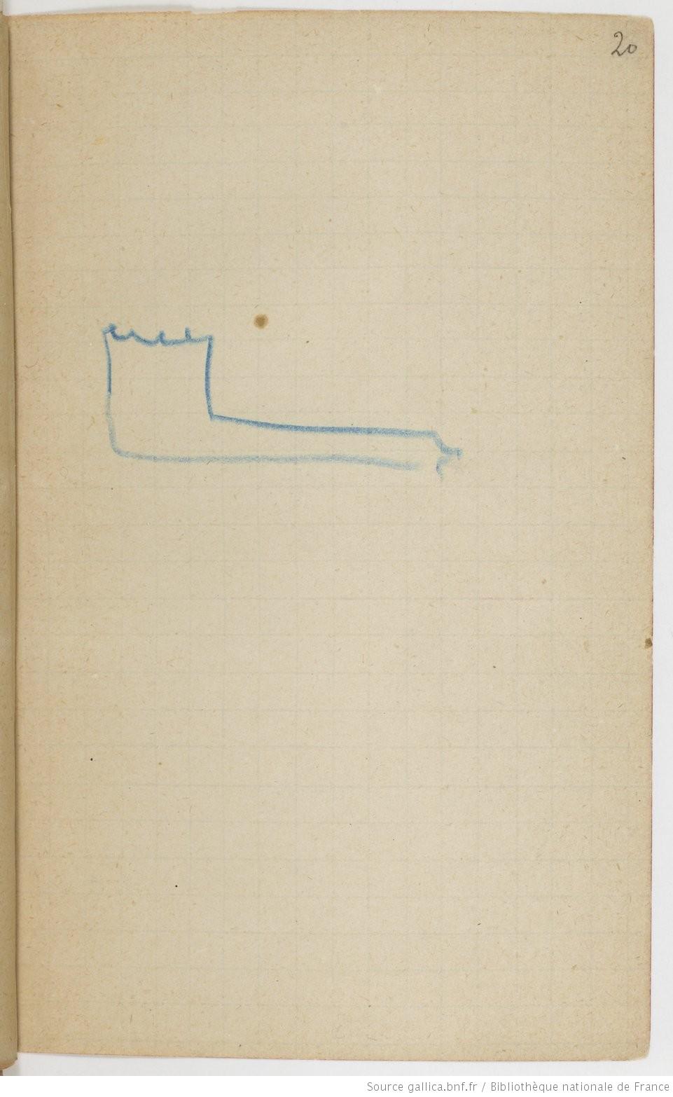 Рис.9 Эдгар Дега, Записная книжка5, стр.20