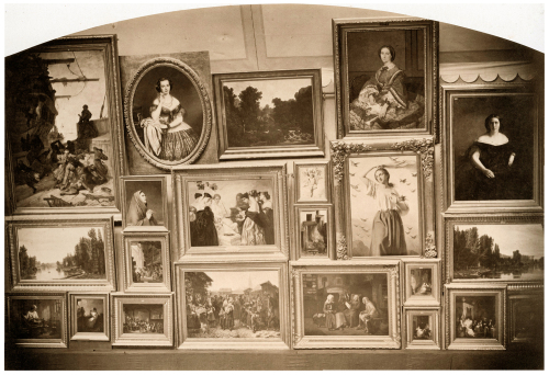 Рис.1 Пьер-Амбруаз Ричербург (1810-75), Фотография Парижского Салона в 1861 году
