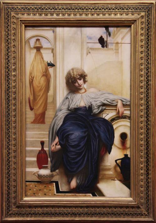 """Рис.18 Фредерик Лейтон""""Lieder ohne worte""""1861"""