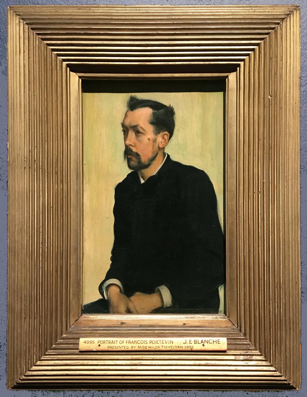 Рис.33 Жак-Эмиль Бланш (1861-1942), François Poictevin, 1887