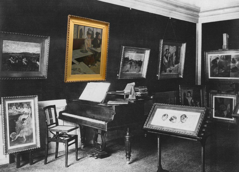 Рис.34 Комната Дега, 1910