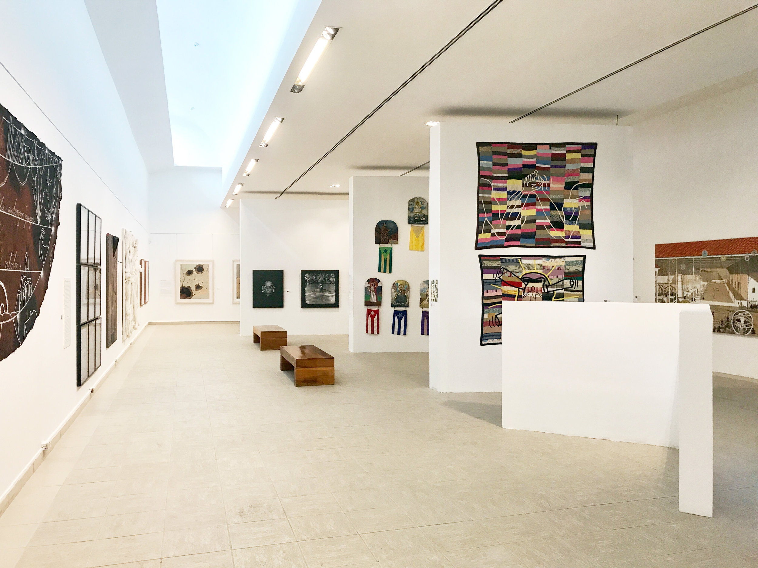 Installation view of  Without Masks . Courtesy of Watch Hill Foundation.