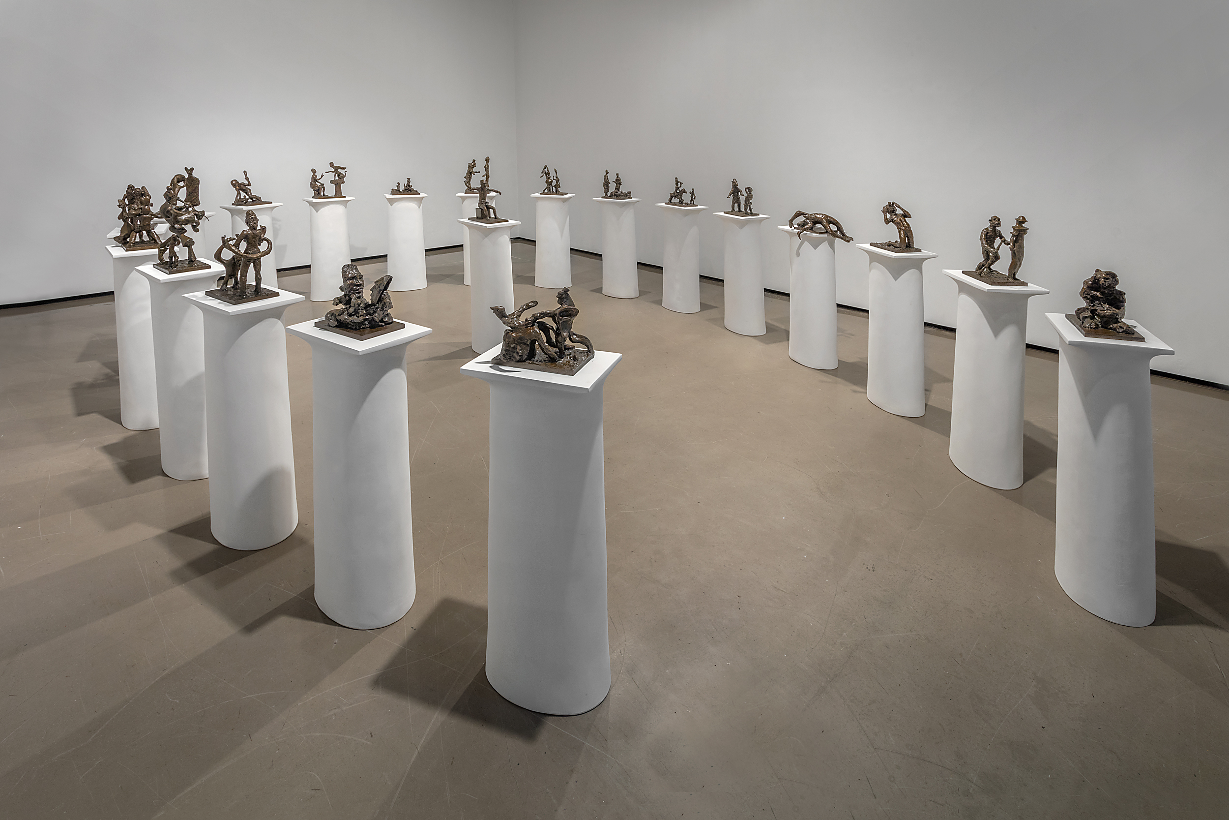 Installation View Courtesy Diego Flores. Saint Clair Cemin: Oedipus,  Courtesy the artist and Paul Kasmin Gallery.