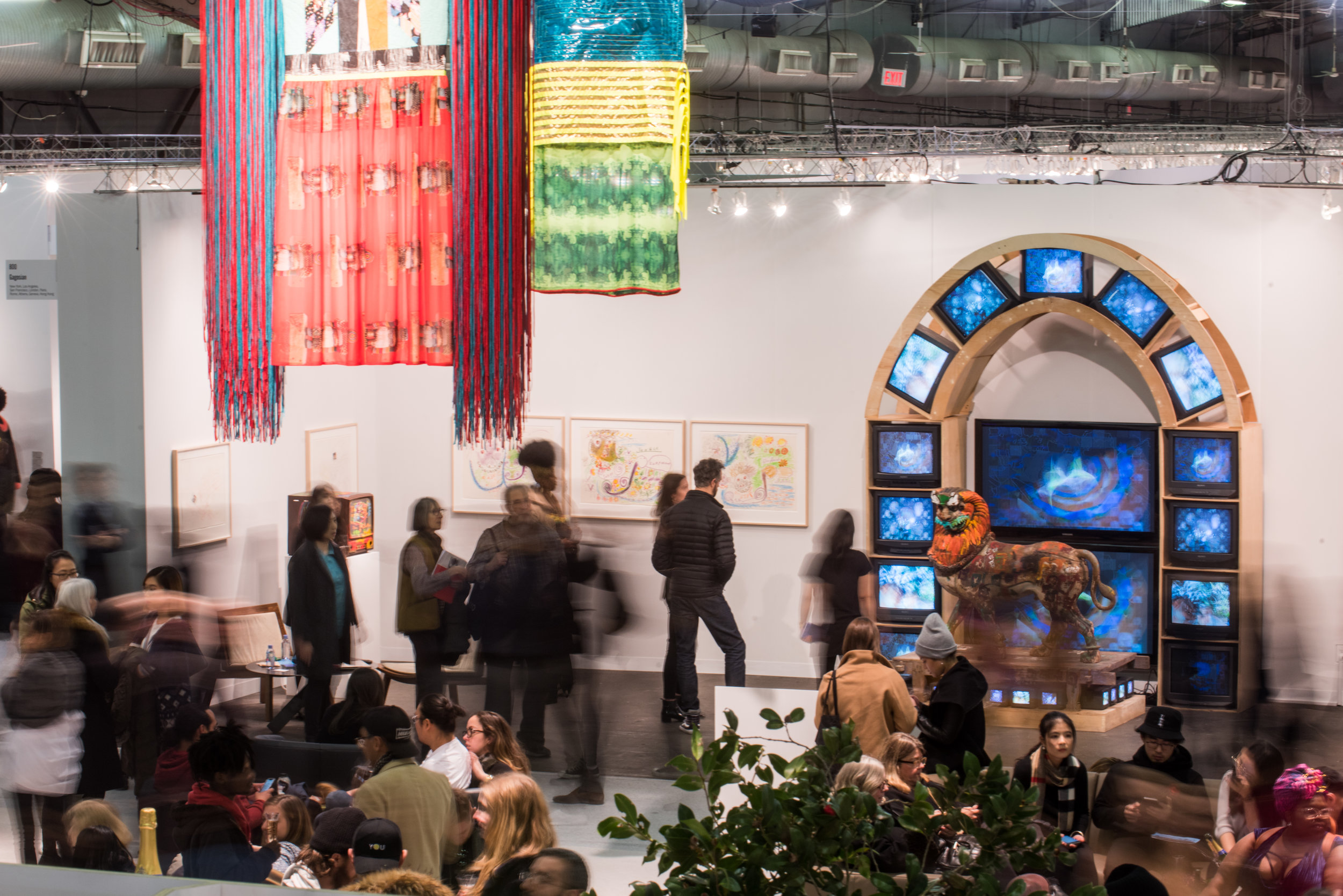 The Armory Show 2018, Pier 94 Central Lounge. Photo by Teddy Wolff courtesy of The Armory Show
