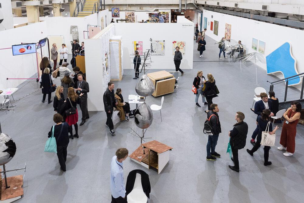 Sunday Art Fair 2017, Ambika P3, University of Westminster, London. Photo by Damian Griffiths. Courtesy of Sunday Art Fair.