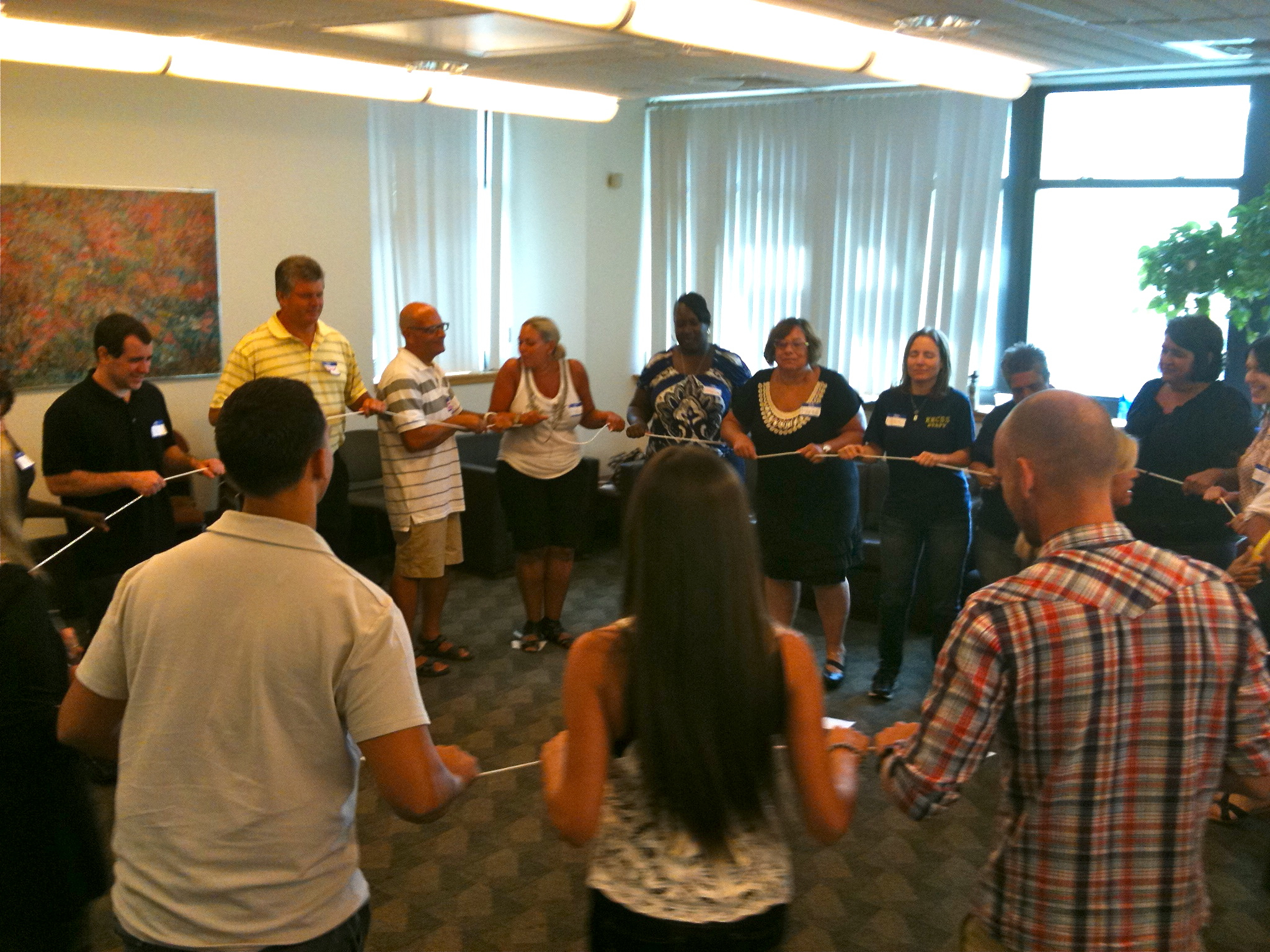 Interactive activities such as the Talking Rope provide engaging, low-risk opportunities to examine and enhance group dynamics and productivity.