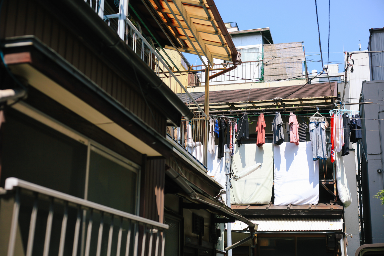 The last image I took outside of Riki's house before leaving to the station on our way to Sendai.