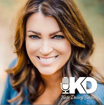Kate Dalley Radio - Julia Mossbridge discusses the unconscious mind double slit test precognition prayer meditation.