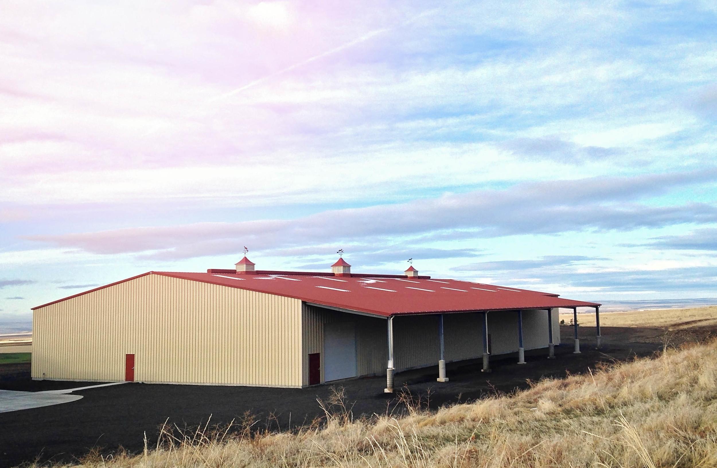 The 7UP Riding Arena located near Pendleton, Oregon.