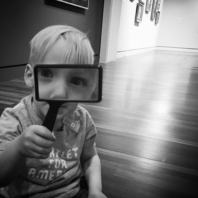 Saturday morning at @fineartscenter