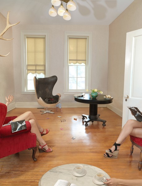 Book Club , 2014 by Julie Blackmon. Image from  julieblackmon.com