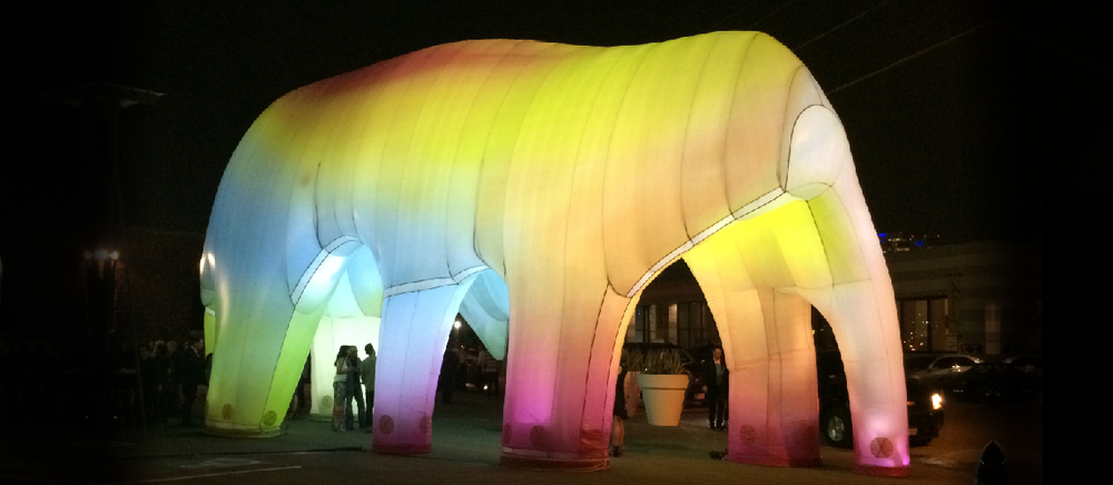 Light Cave by FriendsWithYou. Image via  friendswithyou.com